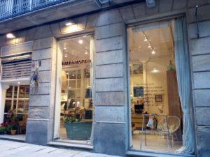 バルセロナのヘナ専門店